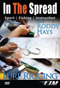 rigging marlin lures in the spread fishing video roddy hays